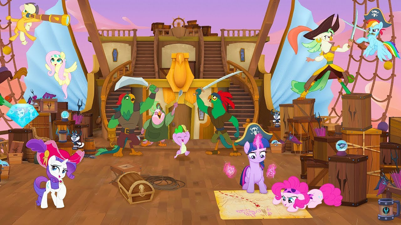 my little pony the movie 2017 360º pirates image youtube