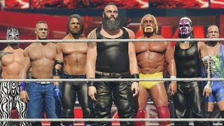 GTA 5 WWE OMG Moments with AJ Styles, Jeff Hardy, John Cena, Randy Orton & Hulk Hogan (WWE 2K18 Mod)