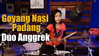 Duo Anggrek Goyang Nasi Padang Drum Cover by Nur Amira Syahira MP3