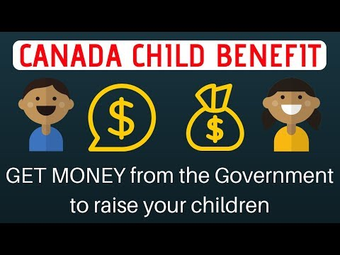 🇨🇦 Get Money From Govt Of Canada | Canada Child Benefit