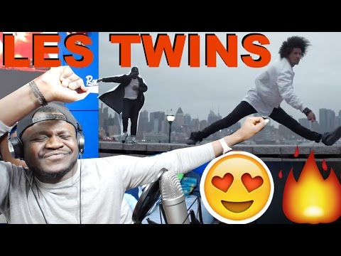 Les Twins and Boubou in NYC   Kehlani - CRZY [REACTION]