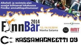 Kassamagneetti Oy - FinnBar 2014 tapahtumassa