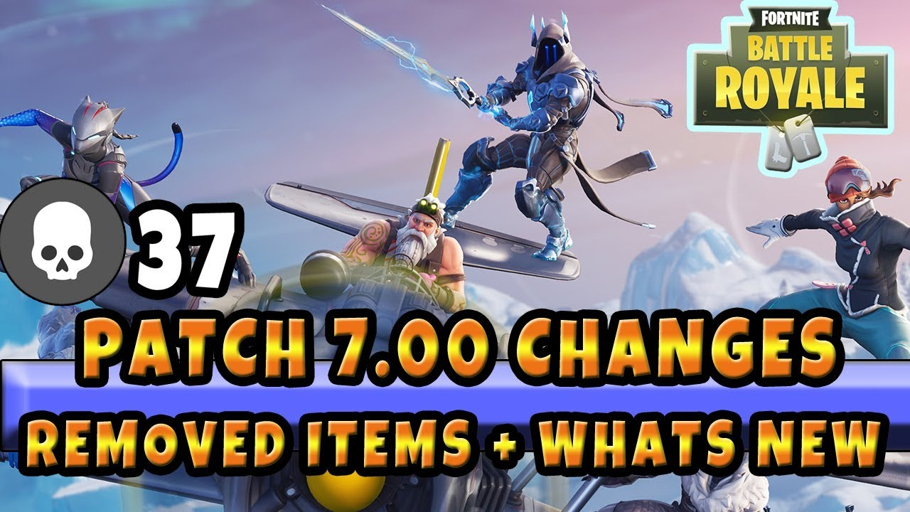 Newest Fortnite Patch Notes Vaulted Items Whats New In Season 7