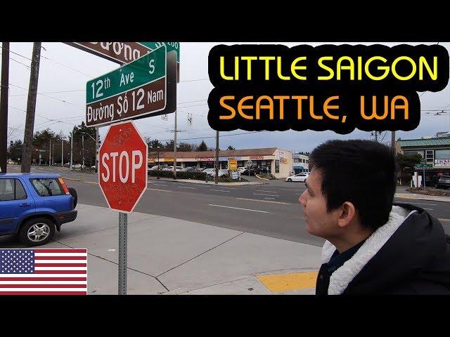 KHU VIỆT NAM LITTLE SAIGON Ở SEATTLE WASHINGTON - TIỆM STARBUCKS ĐẦU TIÊN Ở MỸ