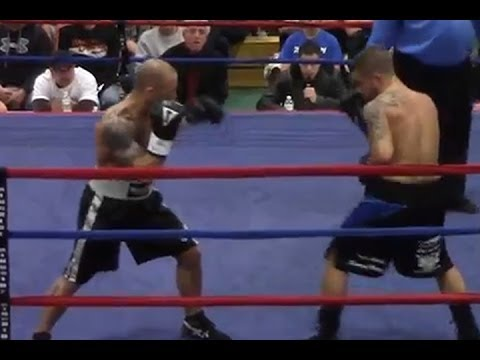 Brandon Berry Vs. Josh Parker-  Maine Pro Boxing