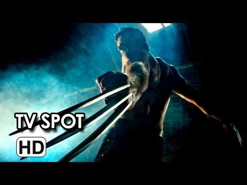 The Wolverine International TV Spot Hunter (2013) Hugh Jackman
