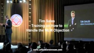 Tim Sales Training – How to Handle Objections