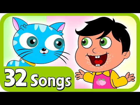 Kids Nursery rhymes - Johny Johny Yes Papa And Plus Lot More Nursery Rhymes | 32 Songs Compilation For Kids & Children