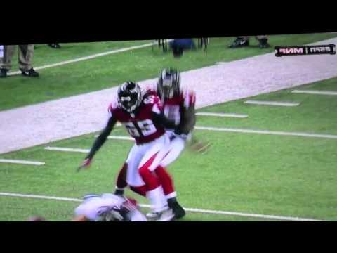 Asante Samuel Big Hit On Broncos Eric Decker