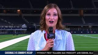 Cardinals vs. Cowboys Recap   NFL 2018 Preseason Week 3
