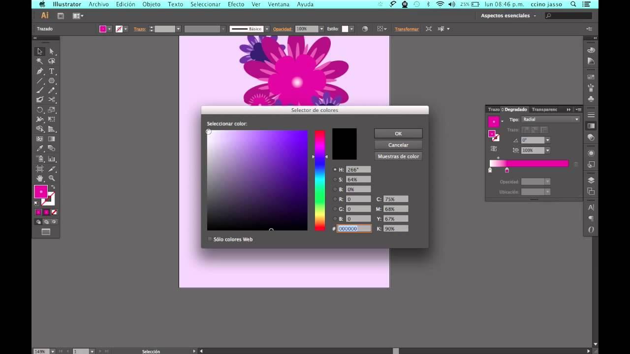 Como crear una tarjeta de felicitaciones en Adobe Illustrtator - YouTube