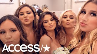 Selena Gomez Stuns As Maid Of Honor At Her Cousin's Wedding Video