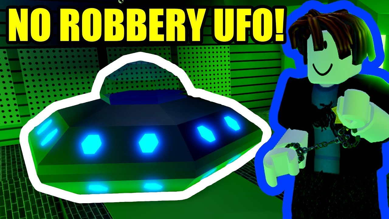 I Got The Ufo Without Robbing Anything Roblox Jailbreak Youtube - no cops free for all roblox jailbreak youtube