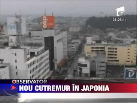 Inca un cutremur in Japonia 23 IUNIE 2011