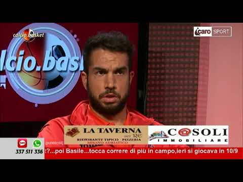 Icaro Sport. Calcio.Basket del 6 novembre 2017 - 1a parte