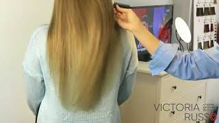 Наращивание волос в СПб - Студия Victoria Russo
