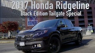 New  2017 Honda Ridgeline Review - The Ultimate NFL Tailgate Experience