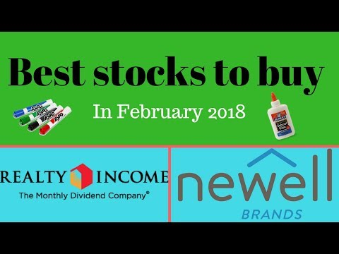 Stocks to buy in February 2018