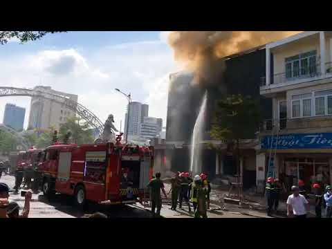 Fire at Le Duan - Da Nang | Cháy nhà ở Lê Duẩn - Đà Nẵng