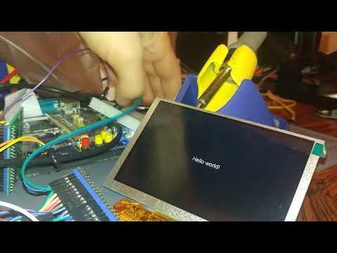 STM32f767 CubeMX, LTDC, RGB-TFT, StEmWin, FMC (SDRAM