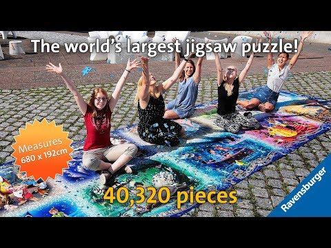 40,000 Piece Disney Moments Ravensburger Jigsaw Puzzle