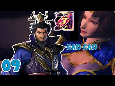 Let's Play Dynasty Warriors 3 Cao Cao 09: DW9 Discussion and Final Battle at Wuzhang Plains #KTArmy