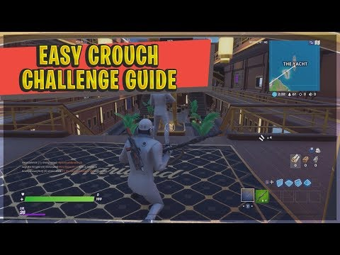 FORTNITE CROUCH WITHIN 20M OF UNAWARE HENCHMEN - Guide & Locations