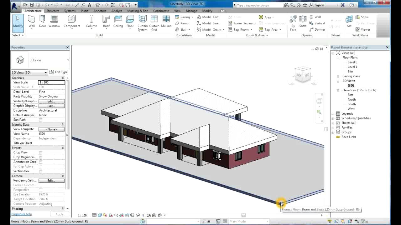 Revit Tutorial Architecture 2014 For