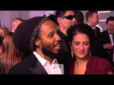 Ziggy Marley Talks Snoop Lion on Grammy Red Carpet - Grammy Awards 2013