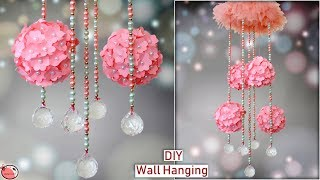 DIY - Paper Wall Hanging !! Paper Flower || DIY Room Decor | Handmade Things || Paper Craft