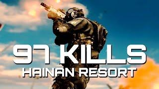 Battlefield 4: 97 KILLS MVP - Hainan Rush (60fps) | TheBrokenMachine