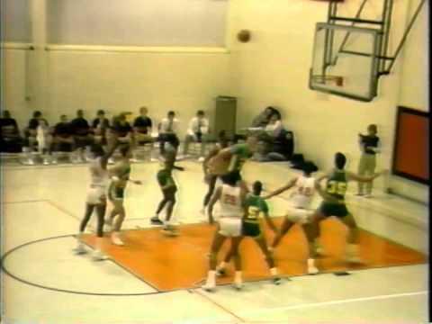 Season: 85-86: Waynesburg vs St Vincent  District 18 Semi Final Game