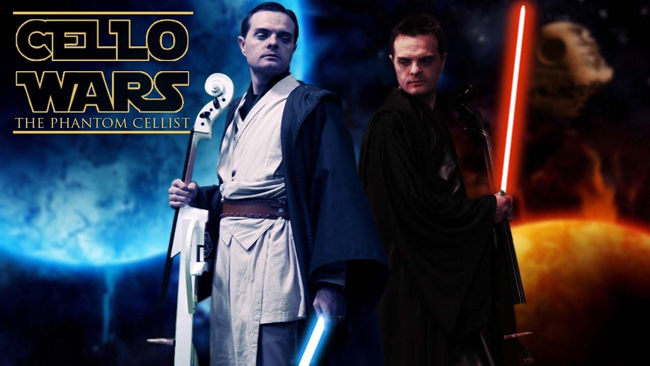 Cello Wars Star Parody Lightsaber Duel