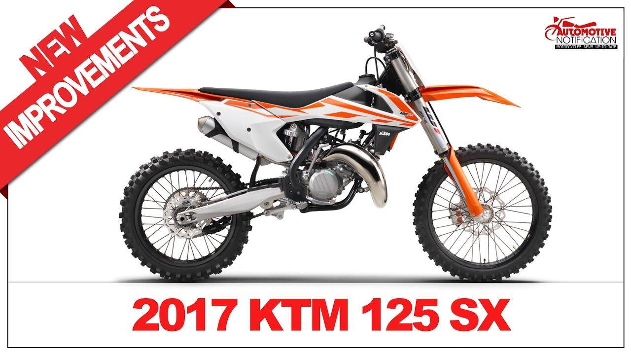 2017 KTM 125 SX Price & Spec