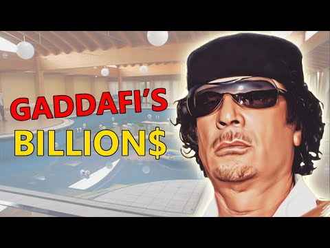 10 Expensive Things Previously Owned By Colonel Muammar Gaddafi