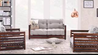 Simple Wood But Heavenly Beautiful Sofa Sets