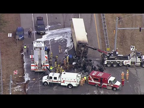 Two Killed In 12-Car Crash In Harford County
