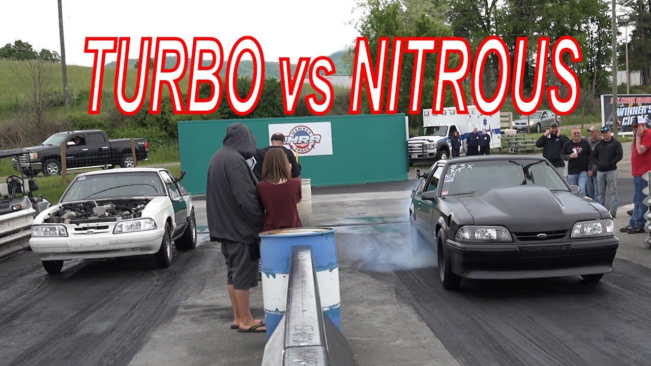 Turbos vs Nitrous To The Finals - Treeside No Prep