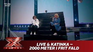 Live & Katinka synger '2000 meter i frit fald' - Katinka (Live)   X Factor 2019   TV 2