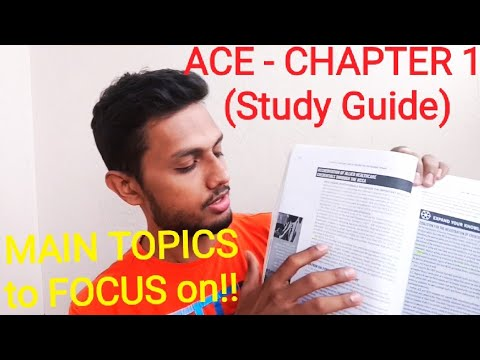ACE CPT, STUDY-GUIDE Series ( Chapter One )