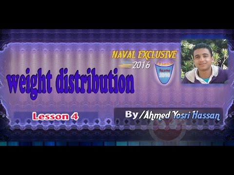 light weight Distribution lesson 4