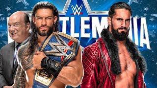 Predicting WWE WrestleMania 38 Nights 1 & 2 Cards