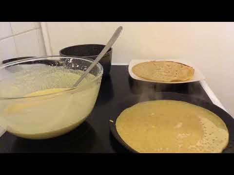 Test Crepe Sans Gluten Maizena Youtube
