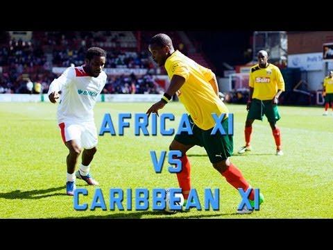 AFCAR match: AFRICA XI vs CARIBBEAN XI