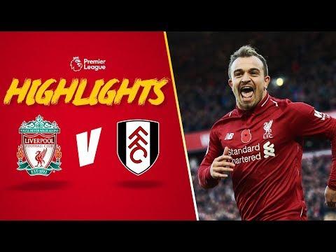 Highlights: LFC 2-0 Fulham | Salah and Shaqiri on target at Anfield