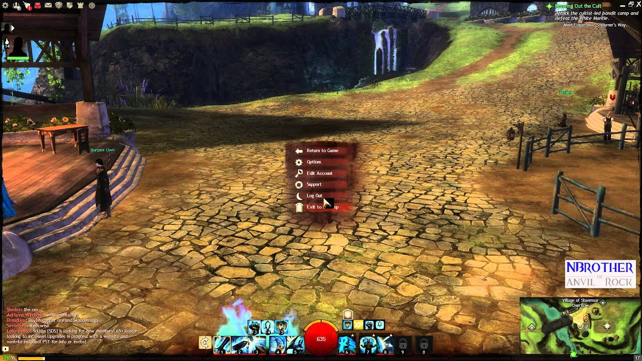 how to meet friends in guild wars 2