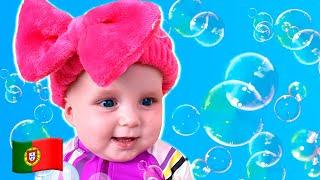 Canção de Banho | Bath Song | Nursery Rhymes | Música Infantil