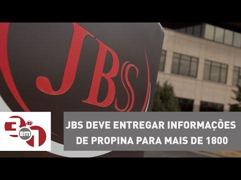 JBS Deve Entregar Informações De Propina Para Mais De 1800 Políticos