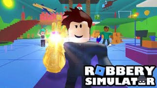 Jugando simulador de robo en hindi / Roblox