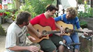 Dispatch - Get ready boy (live and acoustic open-air) at Knust, Hamburg 20.08.2012